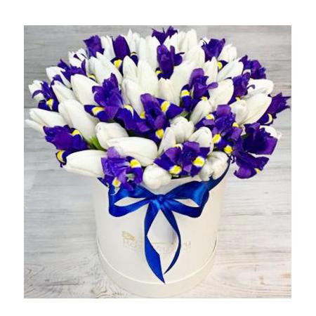 """Шляпная коробка"""" Весна"""""""